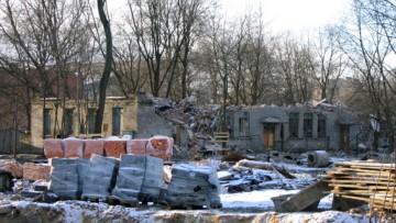 Эсперова улица, 5, общежитие фабрики Красное знамя после сноса