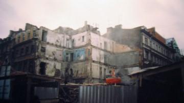 Стремянная улица, 15, Поварской переулок, 1, снос аварийного дома, здания