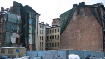 Стремянная улица, 15, Поварской переулок, 1, после сноса