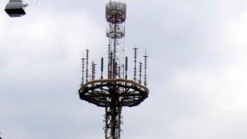 Радиобашня, вышка радиотелефонной связи Алтай на улице Комиссара Смирнова