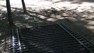 Парк Сосновка, ограда стрельбища