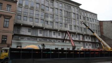 Дом на 8-й линии, 13, после сноса второго этажа
