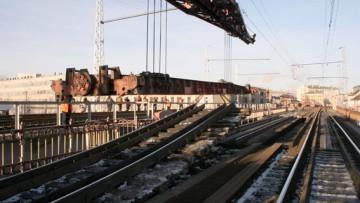 Реконструкция Американских мостов, снятие железнодорожных путей