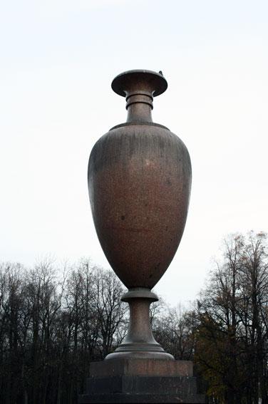 Порфировая ваза в Летнем саду