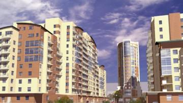 Проект жилого комплекса Охта-модерн