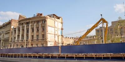 Набережная Робеспьера, 32, снос, демонтаж здания