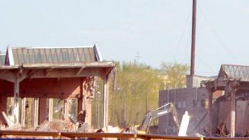 Трамвайный парк № 4, снос, демонтаж