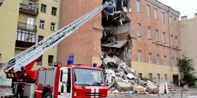 Малодетскосельский проспект, 24, обрушение, рухнул