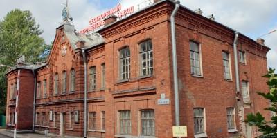 Сестрорецк, Инструментальный завод, главное здание