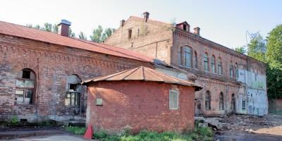 Сестрорецк, Инструментальный завод, круглый корпус