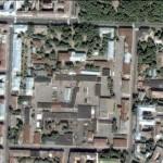 Казармы Преображенского полка. Втд из космоса (Google)