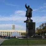 Площадь Ленина, памятник, фонтаны