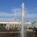 Площадь Ленина, фонтаны