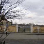 Ворота воинской части в Виленском переулке, 14