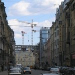 «Парадный квартал» с улицы Рылеева