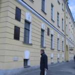 Дом академиков, набережная Лейтенанта Шмидта, 1, мемориальные доски