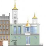 Проект церкви Ксении Петербургской на Петроградской стороне, Лахтинская улица