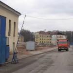 Снесенные казармы бывшего Преображенского полка на Парадной улице, 1-3
