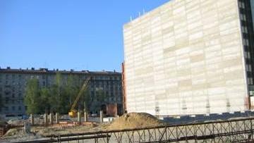 Новый корпус Российской национальной библиотеки, Публичной, Московский проспект, Варшавская улица
