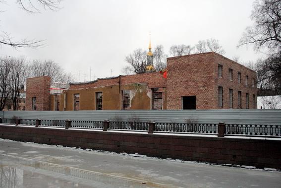 Дом на Никольской площади, 1б, реконструкция, Первый городской ночлежный приют