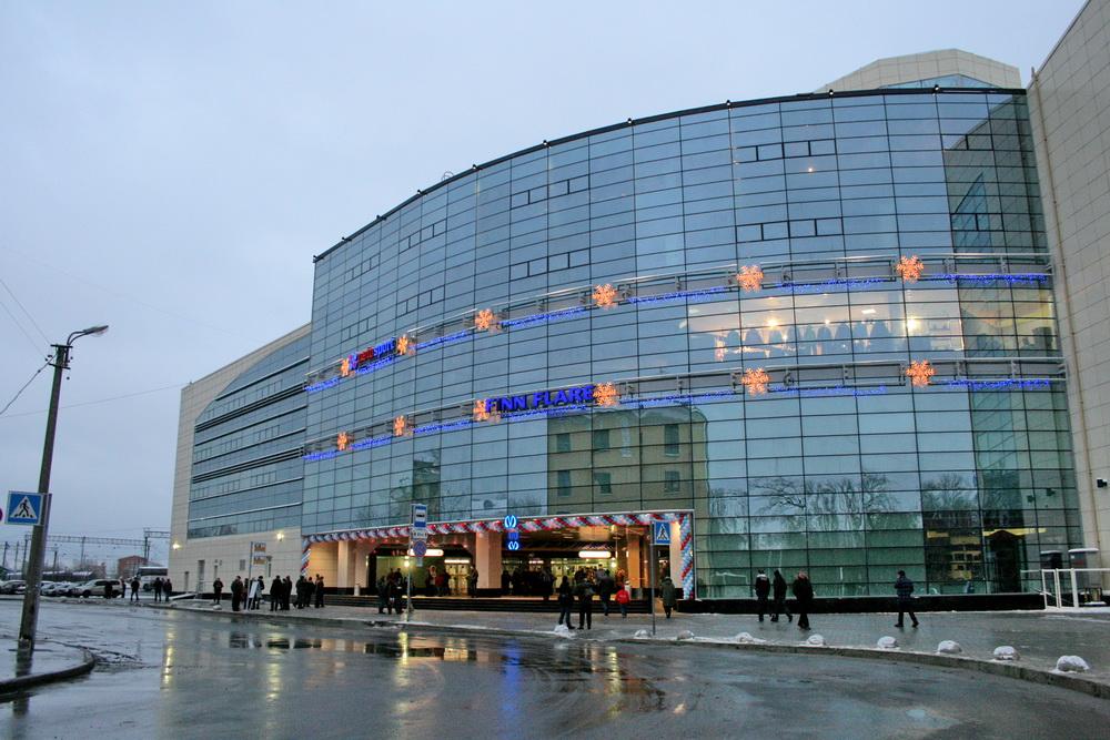 Станция метро Волковская, наземный вестибюль