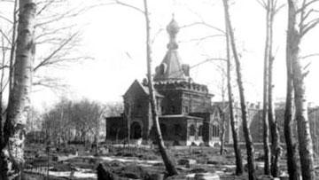 Церковь Сошествия Святого Духа, Духовская на Спасо-Преображенском, Фарфоровском кладбище