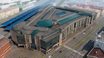Торгово-развлекательный комплекс, ТРК Galleria, Галерея у Московского вокзала, на месте Ямы