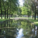 Семеновский плац, парк, сад у Театра юных зрителей, ТЮЗ