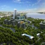 Проект делового квартала Полюстрово