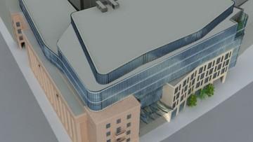 Проект Ренейсанс форум, Renaissance Forum, реконструкция здания газеты Правда
