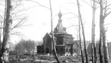 Церковь Сошествия Святого Духа, Духовская, метро Ломоносовская. Архивная фотография