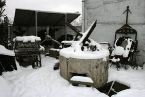 Музей военной археологии, Петровский остров, доты