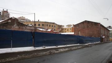 Певческий переулок, 12, строительство бизнес-центра