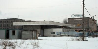 Станция метро Ломоносовская и стройплощадка, вид сзади