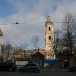 8-я линия, 67, после сноса, вид с колокольни Благовещенской церкви