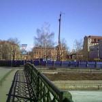 Строительство бассейна школы 235 на набережной реки Пряжки, 2, 4, 6