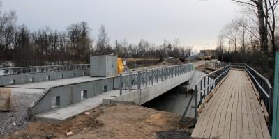 Александровская, мост через Кузьминку