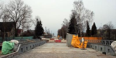 Александровская, новый мост через Кузьминку