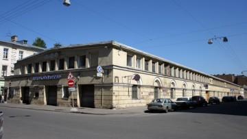 Гараж, автохозяйства ГУВД, Басков переулок, 2, улица Короленко, 5