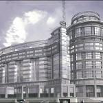 Проект жилого здания, комплекса Платинум на Свердловской набережной, 58