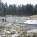 Строительство Кольцевой автодороги, КАД над Старопетергофским, Самсониевском каналом