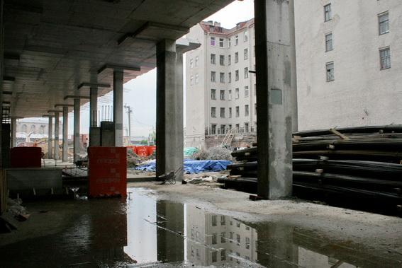 Строительство торгово-развлекательного центра, комплекса Галерея, Galleria на Лиговском проспекте