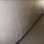 Ладожский вокзал разрушается, деформация стены