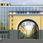 Проект комплекса Новая история на Среднем проспекте, 85