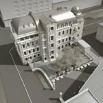Проект реконструкции, надстройки дома на проспекте Чернышевского, 18, Фурштатской улице, 18