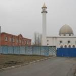 Квартальная мечеть в Коломягах, на углу Парашютной и Репищевой улиц