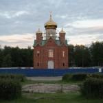 Церковь, храм во имя иконы Взыскание погибших, поселок Невская Дубровка