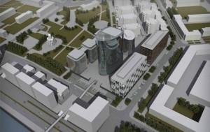 Проект общественно-делового комплекса на Малой Охте
