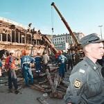 Обрушение козырька на станции метро Сенная площадь