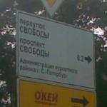 Указатель Администрация курортного района